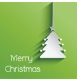 christmas tree background 2011 vector image