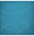 Blueprint abstract background vector image