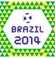 BRAZIL2014 Background3 vector image