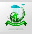 world environment day4 vector image