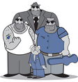 Mafia group vector image