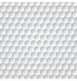 golf ball pattern vector image