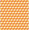 Orange cubes seamless texture vector image