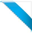 ribbon frame vector image vector image