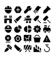 Construction Icons 11 vector image