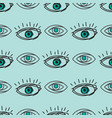 eye blinker seamless pattern vision daylight vector image
