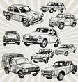 oldcars vector image