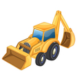 Tractor jcb vector image