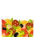food border vector image