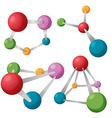 Node Abstract Science Symbol Set vector image