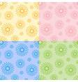 color flower background vector image