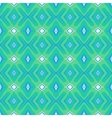 Pattern with geometric forms in mint green vector image