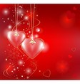 romantic background vector image vector image