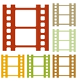 Reel of film sign vector image