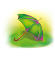 Colorful umbrella vector image