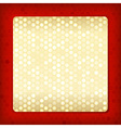 Luxury template for card or invitation vector image
