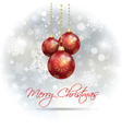 christmas baubles 2211 vector image