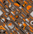 Color seamless pattern of building vector image