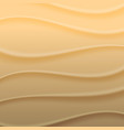 background waves of sand vector image