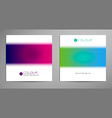 colour background vector image