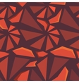 Geometric 3d seamless pattern vector image
