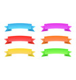 set of color banners vector image