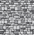 Grey stone wall vector
