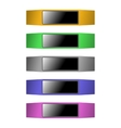 Fitness bracelet vector image
