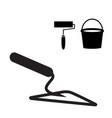 garden or cement trowel icon vector image