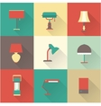 Lamps styles vector image vector image