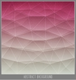 Abstract geometric polygon facet background mosaic vector image