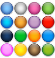Colorful icon balls vector image