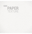 Realistic White Paper Background Texture vector image