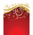 christmas snowflakes background 0511 vector image vector image
