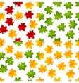 set maple seamless vector image