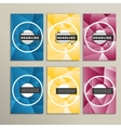 bright circles on a colored background vector image