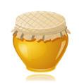 sweet honey pot vector image