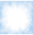 clouds on sky vector image