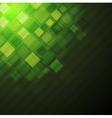 Dark green technical background vector image