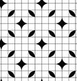 Geometric mosaic seamless pattern background vector image