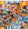 Jazz tile vector image