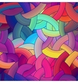 Colorful seamless stripes background rainbow vector image