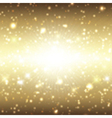 Christmas background with sparkle design vector image vector image