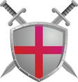 Old swords vector image
