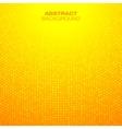Abstract Circular Orange Background vector image