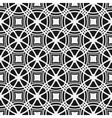Monochrome seamless pattern Geometric simple vector image