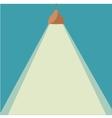 Chandelier light icon vector image