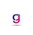Logo G Letter company design template vector image