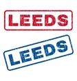 Leeds Rubber Stamps vector image