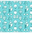 education pattern flat 2 vector image